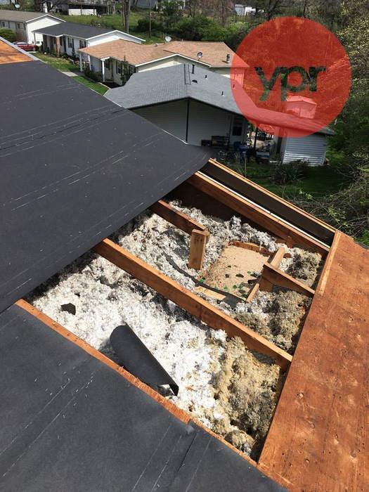 Roofing Insulation Repair